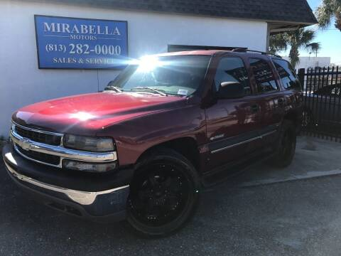 2003 Chevrolet Tahoe for sale at Mirabella Motors in Tampa FL
