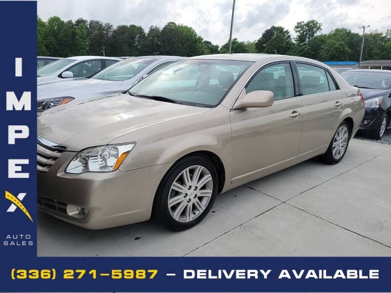 2007 Toyota Avalon for sale at Impex Auto Sales in Greensboro NC