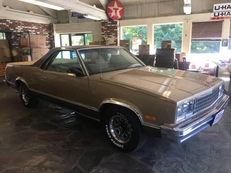 1986 Chevrolet El Camino for sale at Motuzas Automotive Inc. in Upton MA