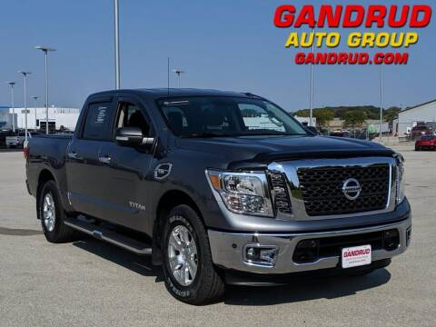 2017 Nissan Titan for sale at Gandrud Dodge in Green Bay WI