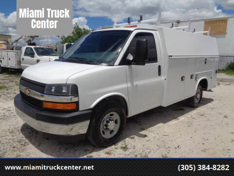 2017 Chevrolet Express Cutaway for sale at Miami Truck Center in Hialeah FL