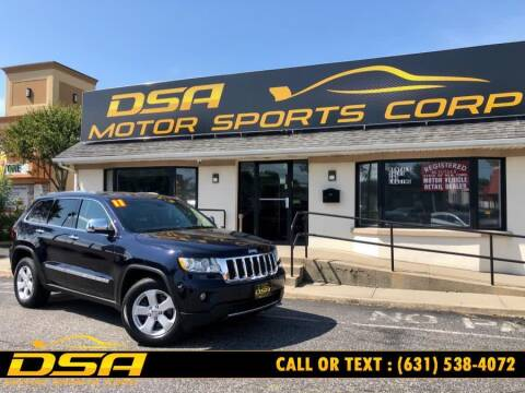 2011 Jeep Grand Cherokee for sale at DSA Motor Sports Corp in Commack NY