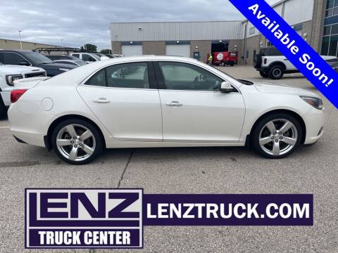 2014 Chevrolet Malibu for sale at LENZ TRUCK CENTER in Fond Du Lac WI