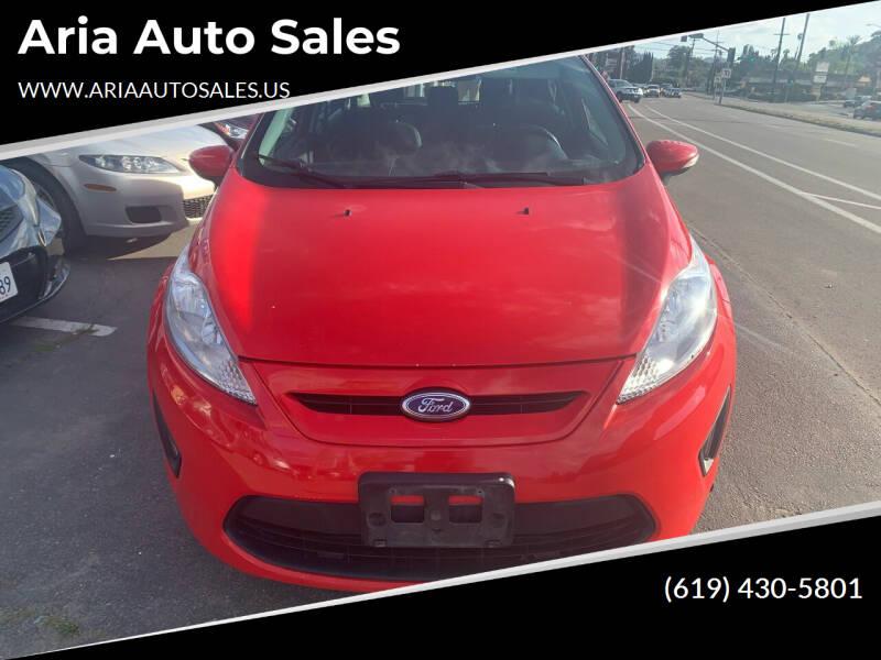 2013 Ford Fiesta for sale at Aria Auto Sales in El Cajon CA