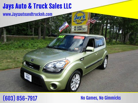 2013 Kia Soul for sale at Jays Auto & Truck Sales LLC in Loudon NH