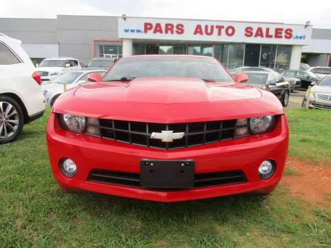 2012 Chevrolet Camaro for sale at Pars Auto Sales Inc in Stone Mountain GA