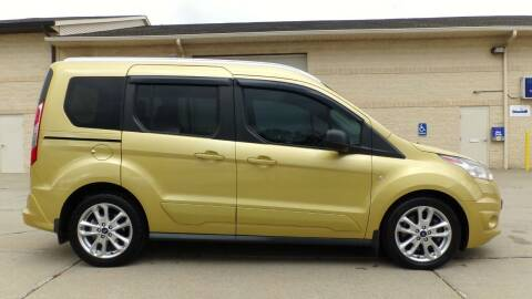 2014 Ford Transit Connect Wagon for sale at Prudential Auto Leasing in Hudson OH