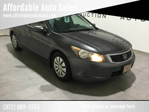 2010 Honda Accord for sale at Affordable Auto Sales in Dallas TX