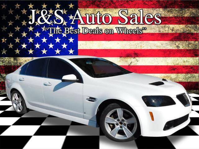2008 Pontiac G8 for sale at J & S Auto Sales in Clarksville TN