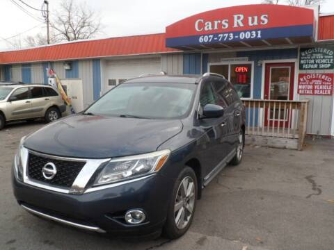 2014 Nissan Pathfinder for sale at Cars R Us in Binghamton NY
