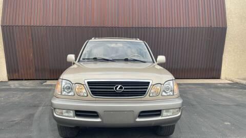 2001 Lexus LX 470 for sale at Autodealz in Tempe AZ