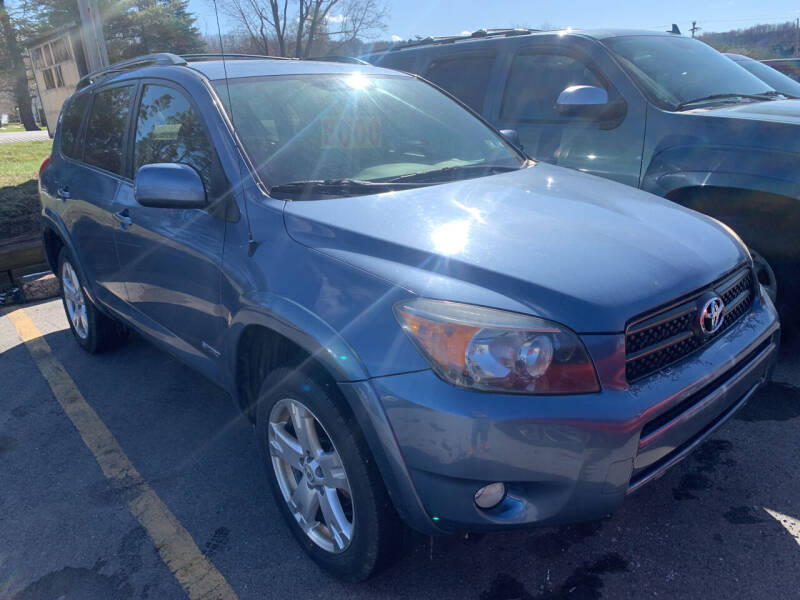 2007 Toyota RAV4 for sale at BURNWORTH AUTO INC in Windber PA
