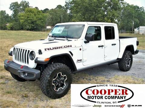 2020 Jeep Gladiator for sale at Cooper Motor Company in Clinton SC