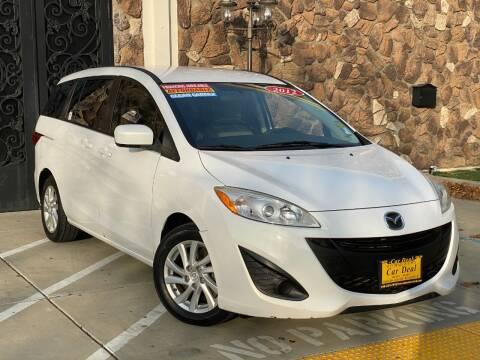 2012 Mazda MAZDA5 for sale at Car Deal Auto Sales in Sacramento CA