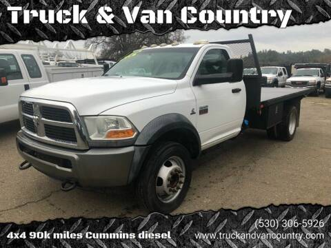 2011 RAM Ram Chassis 5500 for sale at Truck & Van Country in Shingle Springs CA