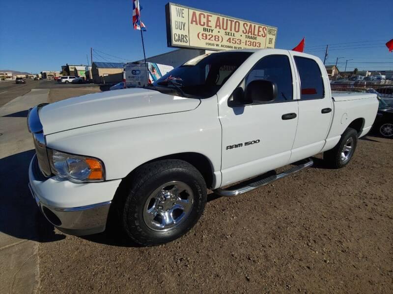 2003 Dodge Ram Pickup 1500 for sale at ACE AUTO SALES in Lake Havasu City AZ