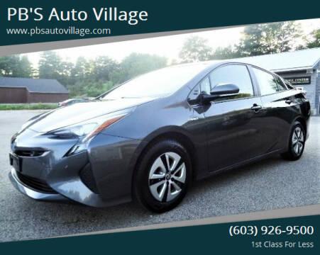 2018 Toyota Prius for sale at PB'S Auto Village in Hampton Falls NH