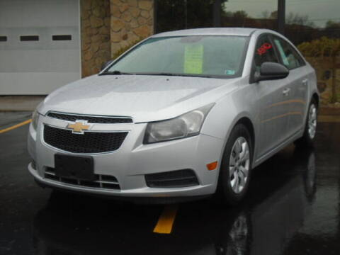 2013 Chevrolet Cruze for sale at Rogos Auto Sales in Brockway PA