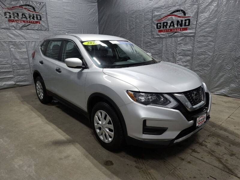 2018 Nissan Rogue for sale at GRAND AUTO SALES in Grand Island NE