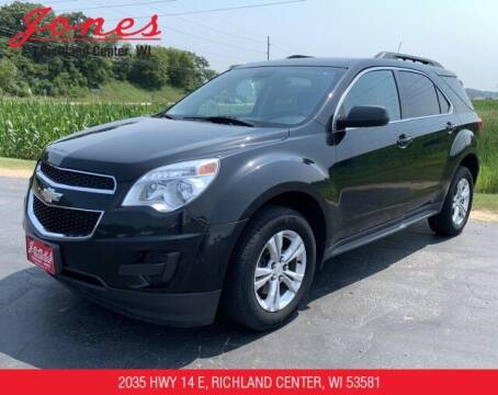 2012 Chevrolet Equinox for sale at Jones Chevrolet Buick Cadillac in Richland Center WI