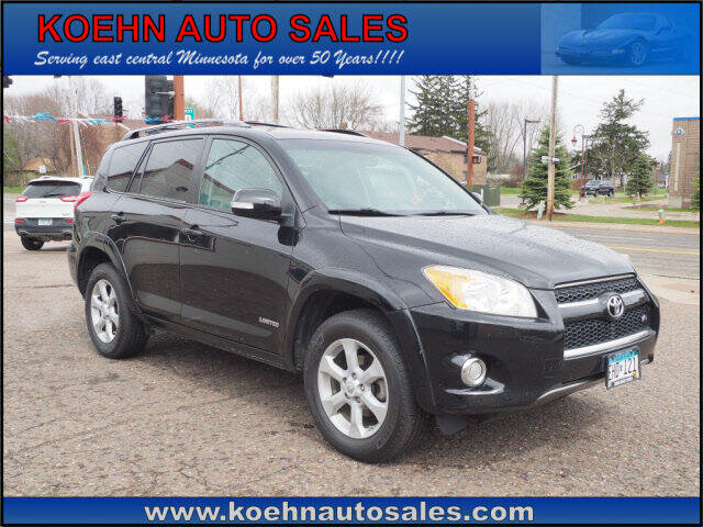 2011 Toyota RAV4 for sale at Koehn Auto Sales in Lindstrom MN