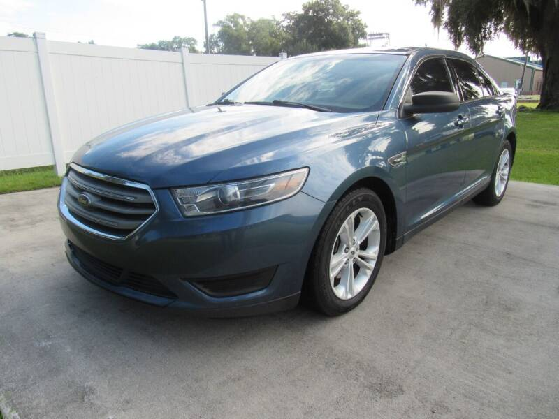 2018 Ford Taurus for sale at D & R Auto Brokers in Ridgeland SC
