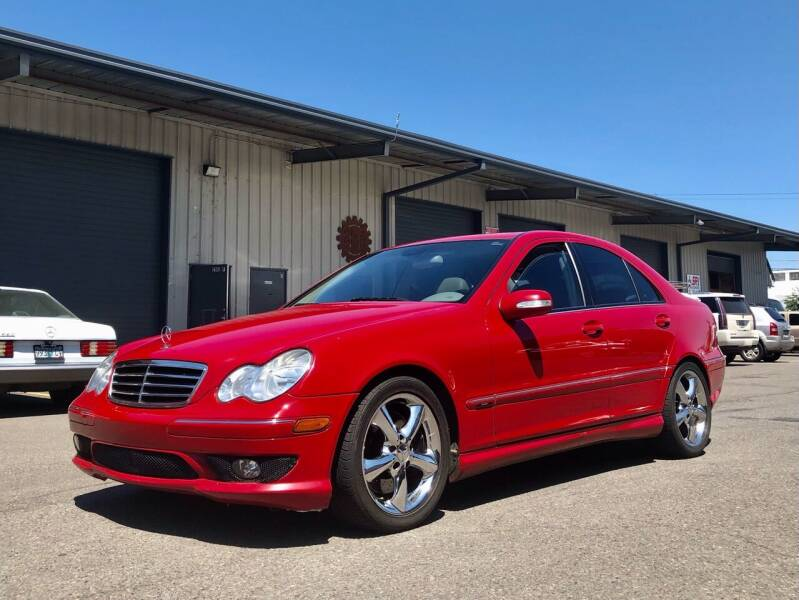 2006 Mercedes-Benz C-Class for sale at DASH AUTO SALES LLC in Salem OR