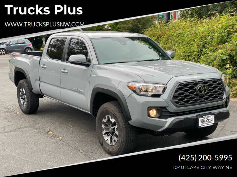 2021 Toyota Tacoma for sale at Trucks Plus in Seattle WA