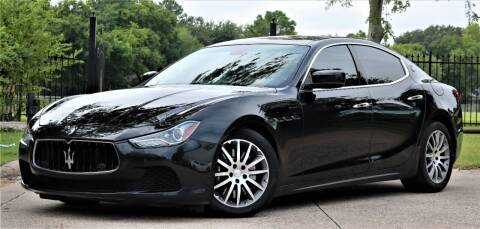 2014 Maserati Ghibli for sale at Texas Auto Corporation in Houston TX