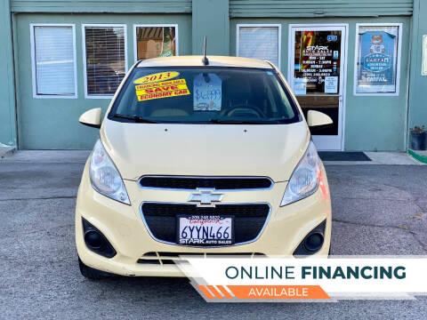 2013 Chevrolet Spark for sale at Stark Auto Sales in Modesto CA