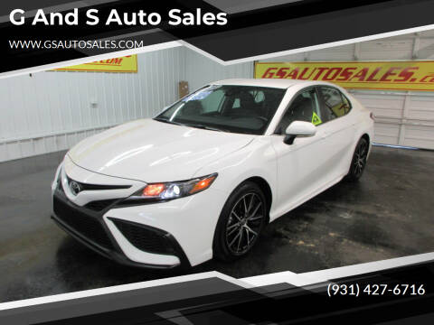 2021 Toyota Camry for sale at G and S Auto Sales in Ardmore TN