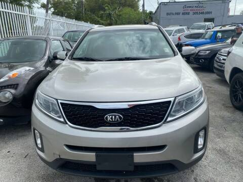 2015 Kia Sorento for sale at America Auto Wholesale Inc in Miami FL