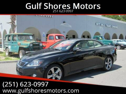 2014 Lexus IS 250C for sale at Gulf Shores Motors in Gulf Shores AL