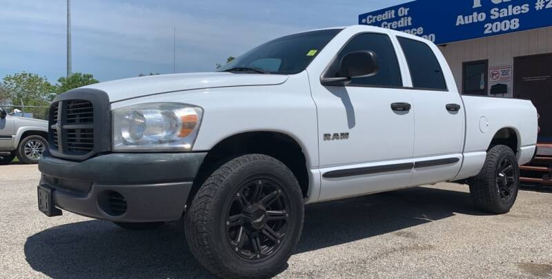2008 Dodge Ram Pickup 1500 for sale at P & A AUTO SALES in Houston TX