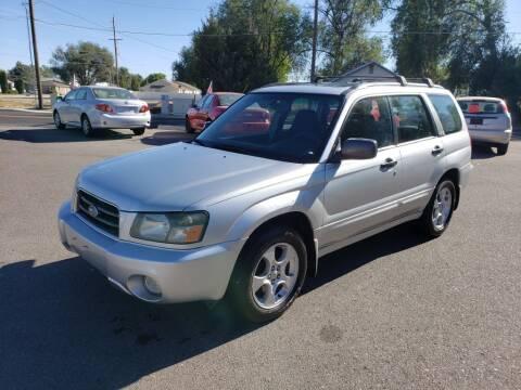 2004 Subaru Forester for sale at Progressive Auto Sales in Twin Falls ID