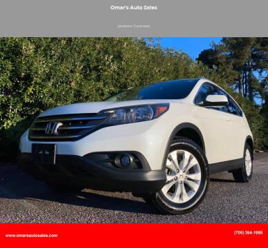 2014 Honda CR-V for sale at Omar's Auto Sales in Martinez GA