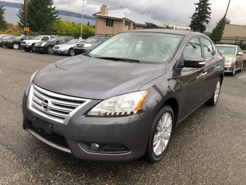 2014 Nissan Sentra for sale at KARMA AUTO SALES in Federal Way WA