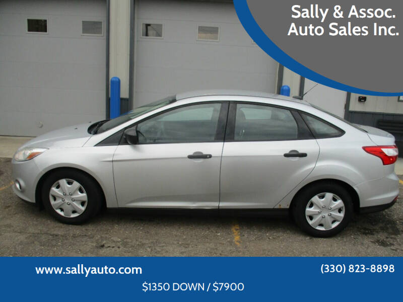 2012 Ford Focus for sale at Sally & Assoc. Auto Sales Inc. in Alliance OH