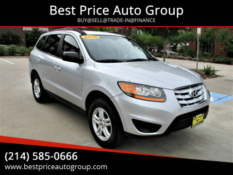 2010 Hyundai Santa Fe for sale at Best Price Auto Group in Mckinney TX