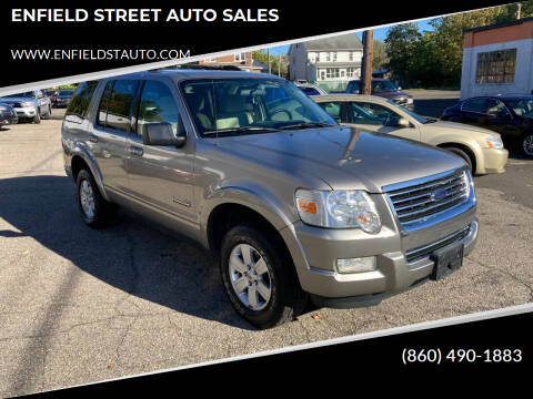 2008 Ford Explorer for sale at ENFIELD STREET AUTO SALES in Enfield CT