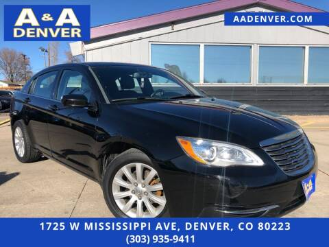 2012 Chrysler 200 for sale at A & A AUTO LLC in Denver CO