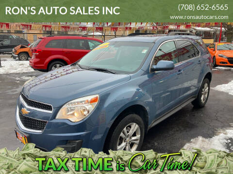 2011 Chevrolet Equinox for sale at RON'S AUTO SALES INC in Cicero IL