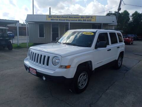 2016 Jeep Patriot for sale at Taylor Trading Co in Beaumont TX