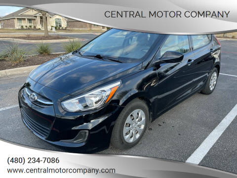 2017 Hyundai Accent for sale at Central Motor Company in Austin TX