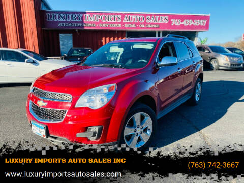 2013 Chevrolet Equinox for sale at LUXURY IMPORTS AUTO SALES INC in North Branch MN