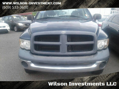 2004 Dodge Ram Pickup 2500 for sale at Wilson Investments LLC in Ewing NJ