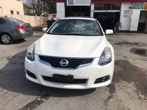 2012 Nissan Altima for sale at Gondal Motors in West Hempstead NY