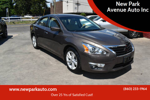 2015 Nissan Altima for sale at New Park Avenue Auto Inc in Hartford CT