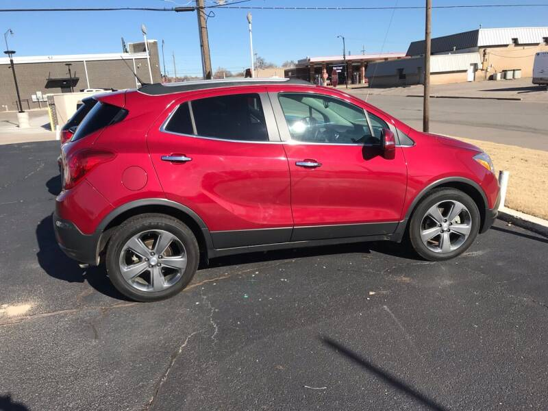 2014 Buick Encore for sale at Westok Auto Leasing in Weatherford OK