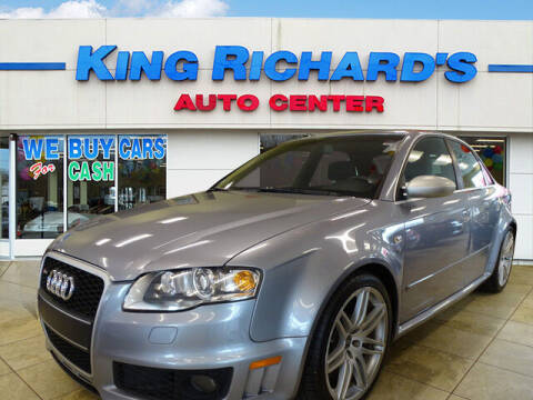 2007 Audi RS 4 for sale at KING RICHARDS AUTO CENTER in East Providence RI